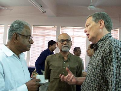 Marcus Rediker in India