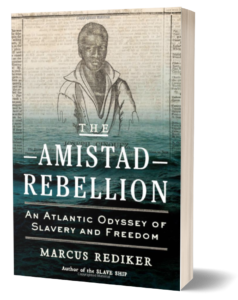 Book cover of The Amistad Rebellion by Marcus Rediker