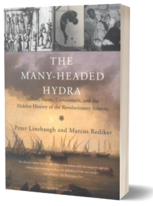 Book cover of The Many Headed Hydra by Marcus Rediker