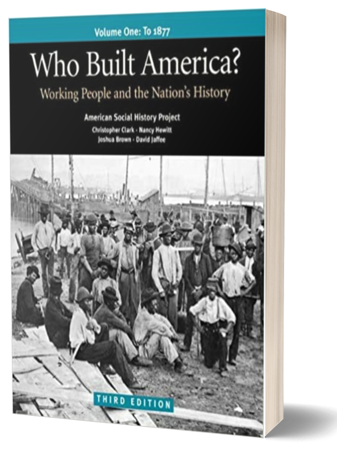 Book cover of Who Built America by Marcus Rediker